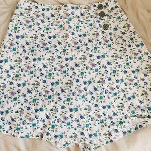 Vintage NY jeans  floral skort